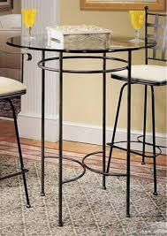 small high kitchen table 51 round high top table set chairs counter height glass top dining