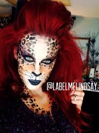 Kids Cheetah Halloween Costume 45 Examples Diy Halloween Makeup Face Paint Makeup Animal