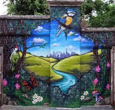 community graffiti art murals aero london graffiti mural artist
