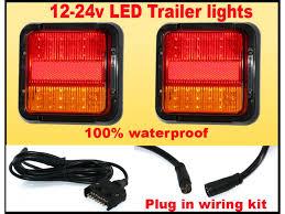 submersible led boat trailer lights led lighting top 10 ideas of led trailer light kit waterproof led