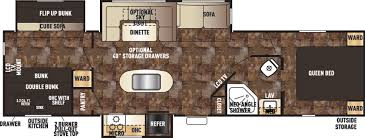 Travel Trailers With King Bed Slide Out Cherokee Travel Trailers Floor Plans Access Rv