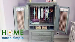 Tv Armoire How To Turn An Old Tv Cabinet Into A Stunning Baby Armoire Home