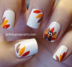15 easy thanksgiving nail art designs ideas trends u0026 stickers
