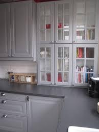 cuisine ikea grise modele placard de cuisine en bois 1 modele