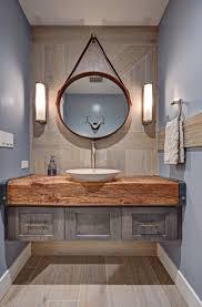 Rustic Modern Bathroom Rustic Modern Bathroom Design Floating Vanity Wood Slab