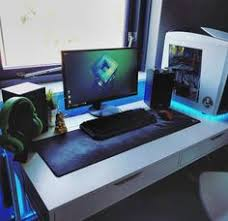 Gaming Desk Setup by Randomfrankp U0027s New Setup Gaming Desk Pinterest Gaming Desk