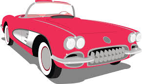 classic cars clip art free corvette vector images clipart wikiclipart