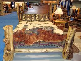Cedar Bedroom Furniture Rustic Beds Log Furniture Furniture Plans And Logs