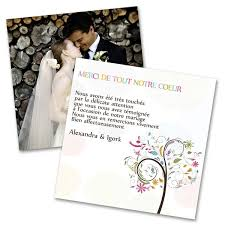mille merci mariage remerciements mariage color