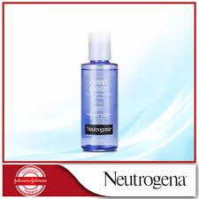 neutrogena deep clean eye and lip makeup remover oil free 112ml