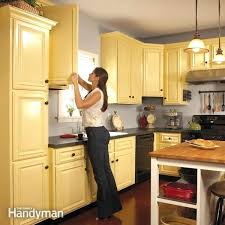 paint existing kitchen cabinets best two tone kitchen ideas on two