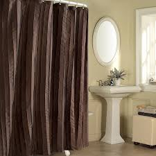 Brown Floral Shower Curtain Bathroom Brown Cloth Fabric Shower Curtains For Bathroom