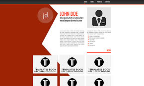 Resume Template Website 20 Best Free Html Resume Templates By Trendy Theme