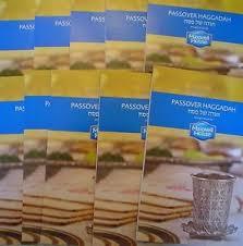 haggadah maxwell house new set of 24 matching passover haggadah maxwell house 2017