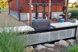 kitchen creating an inexpensive outdoor kitchen with concrete