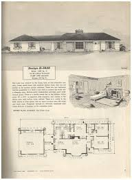 1950s ranch house plans house plans