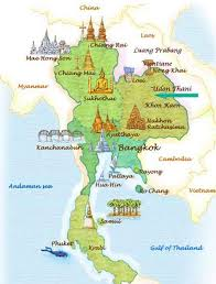 map of thailand map of thailand and map of isan showing the location of rice paddy