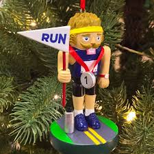 runner nutcracker resin ornament runner s world store