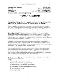 anatomy course description images learn human anatomy image