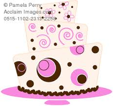 wedding cake clipart clip illustration of a modern fondant wedding cake