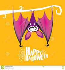 free halloween vector background happy halloween vector background with bat stock vector image