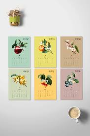 botanical calendars 2017 diy monthly calendar botanical calendar 2017 2017 wall
