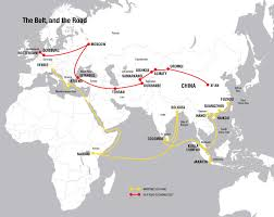 Silk Road Map What Is Belt And Road Week In China