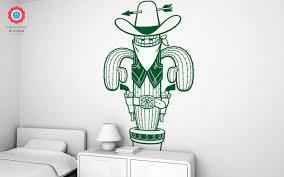 sheriff xxl wall decal nursery kids rooms wall decals boy room sheriff cactus wall decals xxl