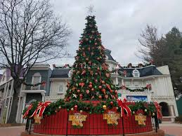 Six Flags Bowie Md Christmas Cheer Combines With Thrills At Six Flags Thebaynet Com