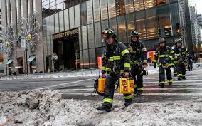 trump apartment donald trump s new york city apartment building caught on fire