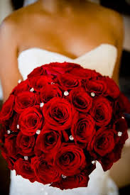 theme black rose simple yet stunning red roses bouquet michael and anna costa