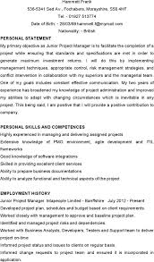 pmo director resume resume jr project manager resume