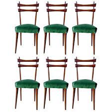 furniture cozy 1950 u0027s dining room chairs mid century italian