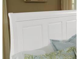 vaughan bassett furniture company bedroom white sleigh bed