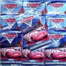 trading in a brand new car topps cars 2 trading card disney pixar pack of 5 cards ebay