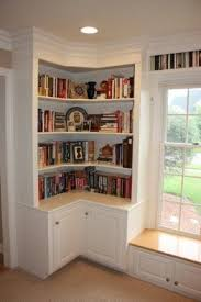 Bookcase With Doors White Corner Cabinet With Doors Foter