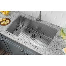 Single Kitchen Sinks by Soleil 32