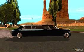 rolls royce inside limo rolls royce phantom limousine 2003 for gta san andreas