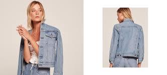 jean jacket reformation