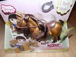bratz kidz doll horseback fun jumper horse pvc articulated 8