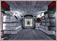 Lunar Module Interior Habitation Module Of Cis Lunar Station