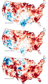 Usa Drought Map by Signs Of The U S Drought Are Underground Image Of The Day
