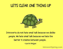 Small Talk Meme - why introverts hate small talk introvert spring