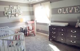 chambre bébé grise et chambre enfant grise