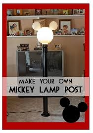 mickey lamp post instructions on how to build your very own