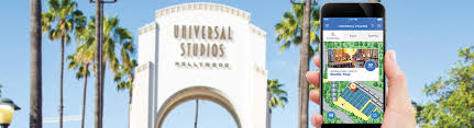Universal Studios Hollywood Map The Universal Studios Hollywood Mobile App Universal Studios