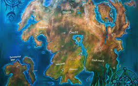 Elder Scrolls Map Download Wallpaper The Elder Scrolls Skyrim Valenwood Map