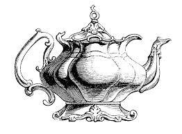 vintage clip art best teapot ever the graphics fairy