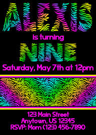 graphic design birthday invitations top 12 neon birthday party invitations theruntime com