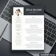 free modern resume template proffesional resume template professional resume template free